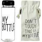 Бутылочка пластиковая «My bottle» в мешке