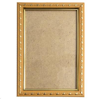 Рамка со стеклом 5012 10*15 см золото в интернет-магазине Швейпрофи.рф