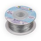 Шнур декор. GC-001M 1 мм (уп. 45,7 м) серебро