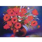 Алмазная мозаика Milato № 230  «Маки в вазе»
