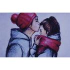 Алмазная мозаика Milato № 324  «Первый поцелуй»