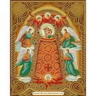Алмазная мозаика АЖ-5055 «Икона Прибавление Ума»