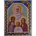 Алмазная мозаика ТМ Наследие 034 «Вера, Надежда, Любовь»