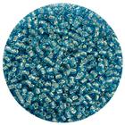 Астра бисер (уп. 20 г) №0023В голубой с серебр. центром
