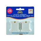 Бобины М3006 картонные для мулине (уп. 50 шт.) 3*4 см