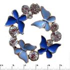 Брошь BR 708 «Кружение бабочек»