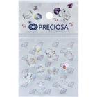 Бусины Crystal Preciosa 451-19-602 AB круг 6 мм (уп 15 шт) прозрачный перломутр