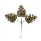 Декор. для флорист. VDF-94 шишки под бл.золото 14 см