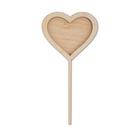 Заготовка для декора BD-228 «Сердце» дерев. 20*9,5 см
