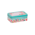 Коробка для мелочей MSB-03 « Цветы» металл 12*7,5*4,3см