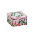 Коробка для мелочей MSB-04 04 «Розы» металл 11*11*6,3 см