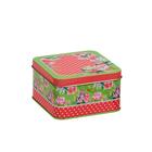 Коробка для мелочей MSB-04 01 «Цветы» металл 11*11*6,3см