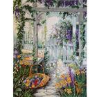 Набор для вышивания Dimensions 13692 «Садовая калитка» 36*46см