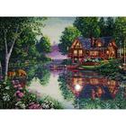 Набор для вышивания Dimensions 35183 «Уютный дом» 41*30 см
