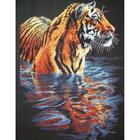Набор для вышивания Dimensions 35222 «Охлаждающийся тигр» 23*36 см