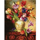 Набор для вышивания Dimensions 35305 «Пестрые тюльпаны» 30*38 см