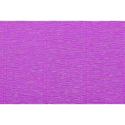 Бумага гофр. (Италия) 180 г/м2  ZA (0,5*2,5 м ) 590 ярко-сиреневый в интернет-магазине Швейпрофи.рф