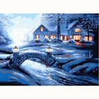 Набор для вышивания HP №718 «Зимний пейзаж» 47*35 см