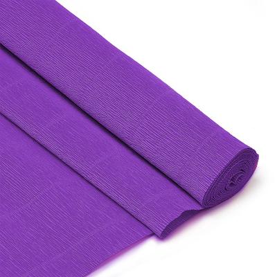 Бумага гофр. (Италия) 180 г/м2  ZA (0,5*2,5 м ) 593 фиолетовый в интернет-магазине Швейпрофи.рф