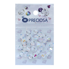 Бусины Crystal Preciosa 451-69-302 AB Биоконус 5,7*6 мм (уп 30 шт) 551743 стекло прозрачный перломут
