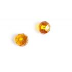 Бусины Tesoro TBY-R-1 стекло на нити № 8 (72 бусин) грань 18 бл.-персиковый