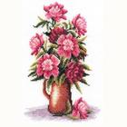 Набор для вышивания Panna Ц-0152 «Букет пионов» 17*24,5 см