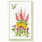 Набор для вышивания Panna Ц-0645 «Панно с бабочкой» 18*29 см