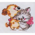Набор для вышивания Алиса 0-036 «Обожаю»