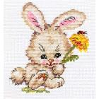 Набор для вышивания Алиса 0-058 «Зайка» 10*12 см
