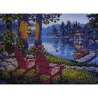 Набор для вышивания бисером Свет Рукоделия АРТ-112 «Вечер у реки» 18*25 см