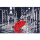 Набор для вышивания Золотое руно ГМ-024 «Красный зонтик» 23,8*35,2 см