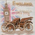 Набор для вышивания Золотые ручки «Лондон» 15*16 см