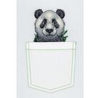 Набор для вышивания М.П.Студия В-241 «Веселая панда» 9*9 см