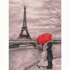 Набор для вышивания Овен №704 «Парижская набережная» 18*25 см