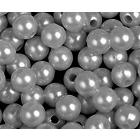 Бусины пластм.  5-6 мм (уп. 10 г)  161  Н01 белый