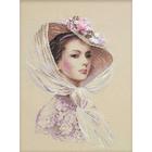 Набор для вышивания Риолис №100/028 «Сиреневый вечер» 30*40 см
