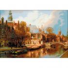 Набор для вышивания Риолис №1189 «Амстердам. Старая церковь» 54*40 см