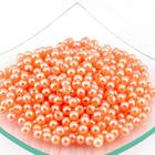 Бусины пластм.  5-6 мм (уп. 10 г) 133  Н29 оранжевый