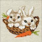 Набор для вышивания Риолис №676 «Зайцы»