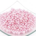 Бусины пластм.  5-6 мм (уп. 10 г) 143  H03 св.-розовый