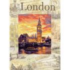 Набор для вышивания Риолис РТ-0019 «Города мира. Лондон» 30*40 см