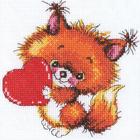 Набор для вышивания РТО C216 «Доброе сердечко» 14*14 см