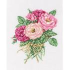 Набор для вышивания РТО M563 « Букетик роз» 19*22 см