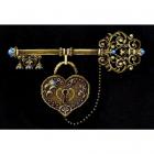 Набор для вышивания Сделай своими руками К-37 «Ключ счастья» 35*26 см