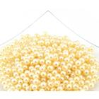 Бусины пластм.  8 мм (уп. 10 г) 131 персик