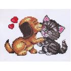 Набор для вышивания Чудесная Игла №16-08 «Любовь» 15*10 см