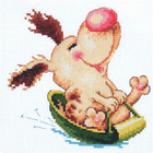 Набор для вышивания Чудесная Игла №16-20 «Щенячий восторг» 14*13 см
