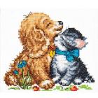 Набор для вышивания Чудесная Игла №18-46 «Нежность» 13*12 см