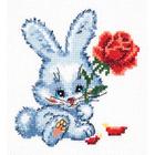 Набор для вышивания Чудесная Игла №18-48 «Зайчишка» 11*12 см