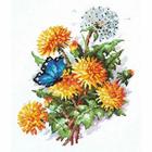 Набор для вышивания Чудесная Игла №40-52 «Одуванчики» 19*25 см